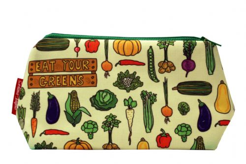 Selina-Jayne Garden Vegatables Limited Edition Designer Cosmetic Bag